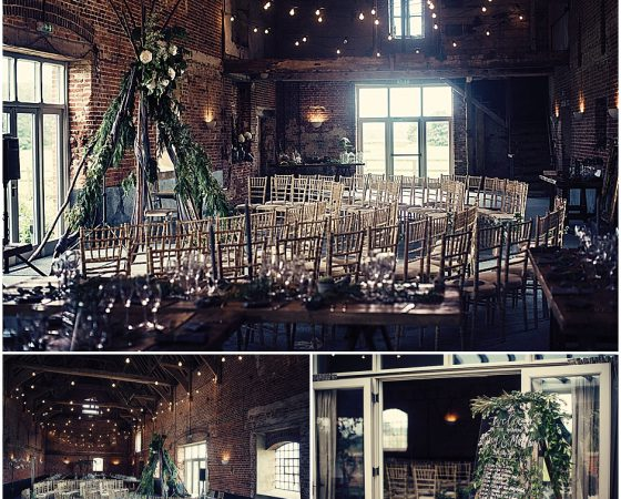 My first wedding at Godwick Great barn in Norfolk
